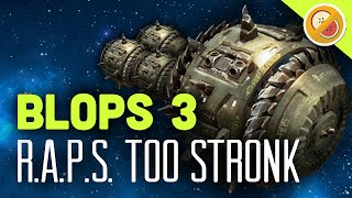 R.A.P.S. TOO STRONK - Black Ops 3 Multiplayer Gameplay Funny Moments (Call of Duty)