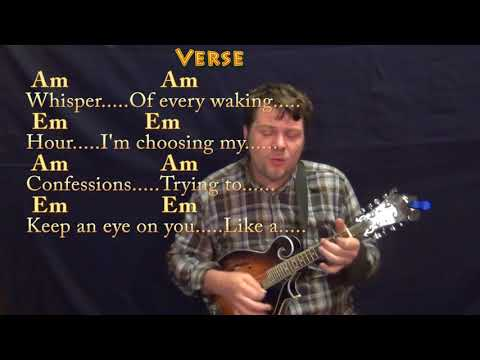 Losing My Religion (REM) Mandolin Cover Lesson With Chords/Lyrics