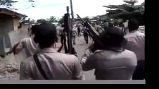 The Brutality of Indonesian Police towards protestors in West Papua