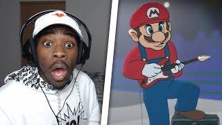 IT IS TIME! | Mario Vs Sonic Cartoon Beatbox Battles Reaction