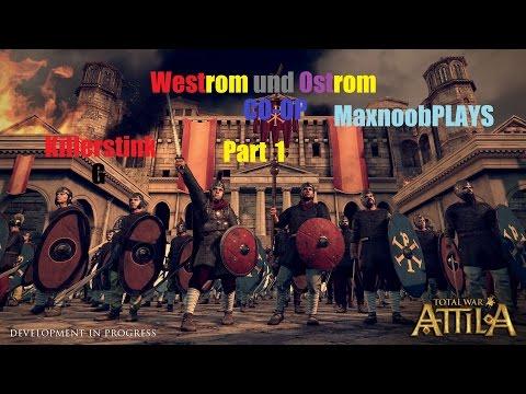 Let's Play Total War Attila CO-OP deutsch Part 1