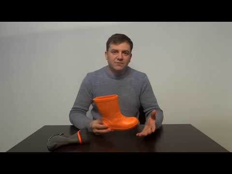 Резиновые сапоги DEMAR DINO C оранжевые - KIDIK