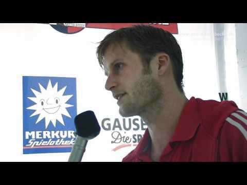 TuS N Lübbecke D025 Interview Hansen Goeppingen by twotypes tv