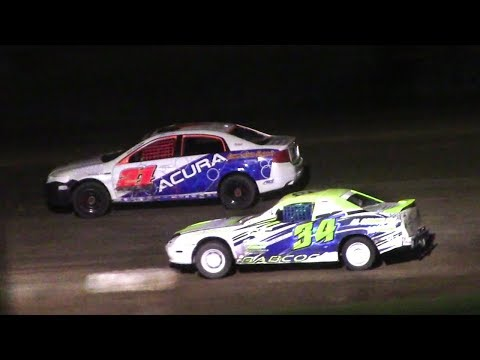 Mini Stock Feature | McKean County Raceway | 9-30-17