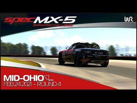 2021 SPEC MX-5 SimRacing Challenge | Round 4 - Mid-Ohio