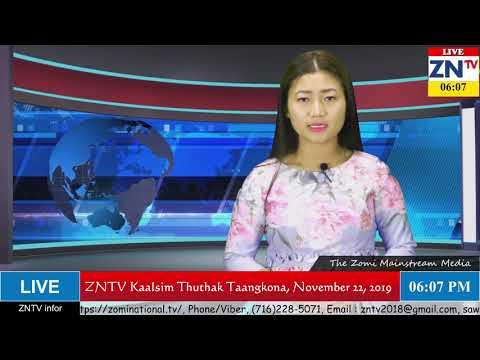ZNTV Kaalsim Thuthak Taangkona # 49, November 22, 2019 (Friday)