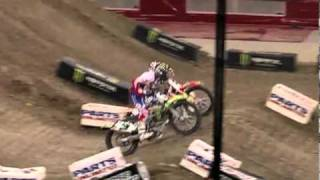 2011 Moose Racing Arenacross Jumbotron Video