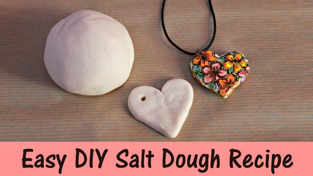 Easy diy salt dough recipe 3 ingredients youtube aloadofball Choice Image