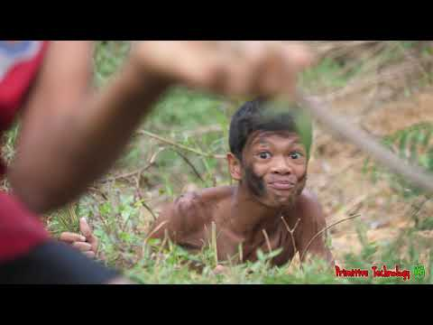 Primitive Technology - Eating Delicious - Find Food Meet Duck And Cooking Egg #198