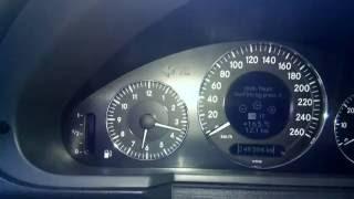 Як перевести годинник на Мерседесі w211