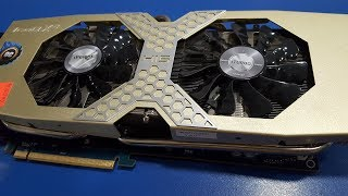 Ta'mirlash video karta-monster UNING Radeon R9 290