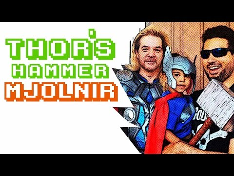My custom DIY Thor Mjolnir display (Mewmir) from YouTube · Duration:  3 minutes 5 seconds