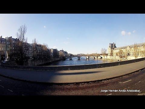 Viajando por Europa Boulevard Saint Germain Paris