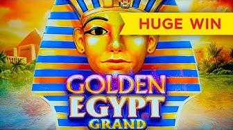 Golden Egypt Grand Slot - BIG WIN BONUS!