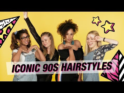 Superdrug Tries Out Iconic 90s Hairstyles | Back To School | 90s Hairstyles