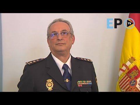 Presentación del nuevo comisario de la Policía Nacional de Lugo, José María Esteban Corral