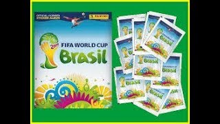 [HD] Complete 100% Panini FIFA WorldCup Brasil 2014 Sticker album !!!!!!