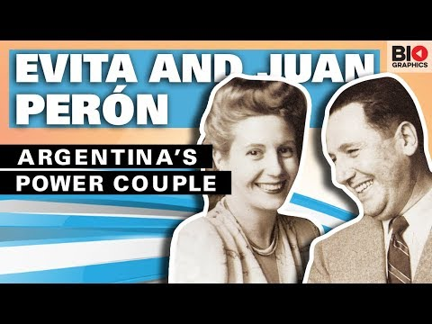 Evita And Juan Perón: Argentina's Power Couple