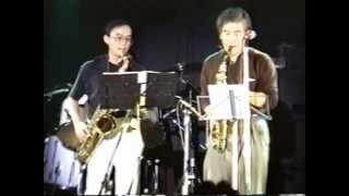 インディゴ・ブルー・ジャズバンド ライブ1997 イトーキライブ 1997.10.25 in 恵比寿ギルティ 当時35歳太る前です、