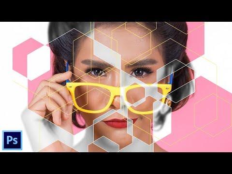 Как Создать Полигональный Портрет в Adobe Photoshop | Урок #6