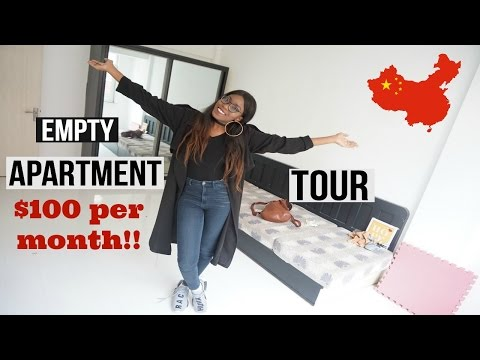 MY CHINESE APARTMENT TOUR | $100 PER MONTH!!