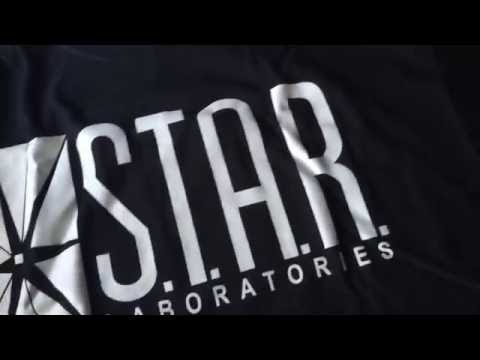 The Flash S.T.A.R Labs T-Shirt Unboxing!