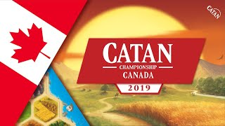 CATAN Canada Championship Final Game
