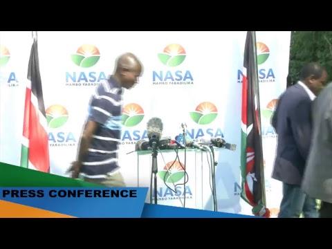 Press Conference: NASA Summit Briefing #Resist #NRMKe
