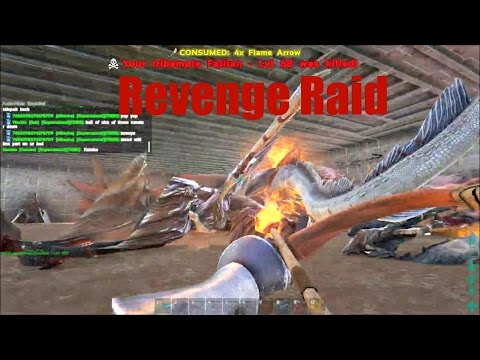 ARK: Survival Evolved - Happy Tree Friends Raid - Scorched Earth 664