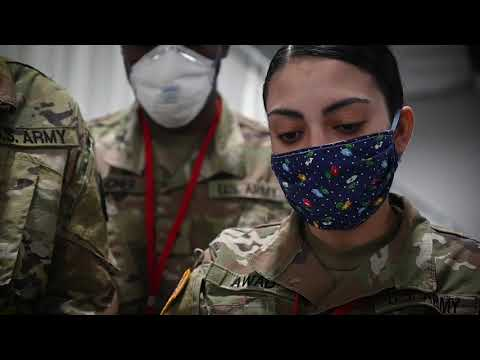 NJ National Guard Aids In Medical Care For FMS SECAUCUS, NJ, UNITED STATES 04.06.2020