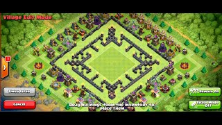 Max Th10 War Maze Base - Actually Works!!! - Clash Of Clans