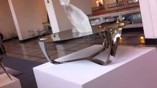 Flow Side Table Stainless Steel
