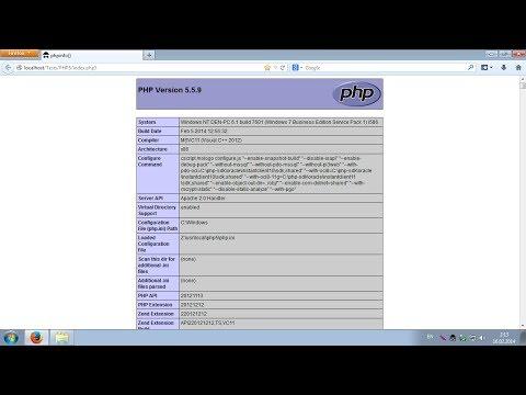 Обновление PHP в пакете Denwer до версии 5.5.9