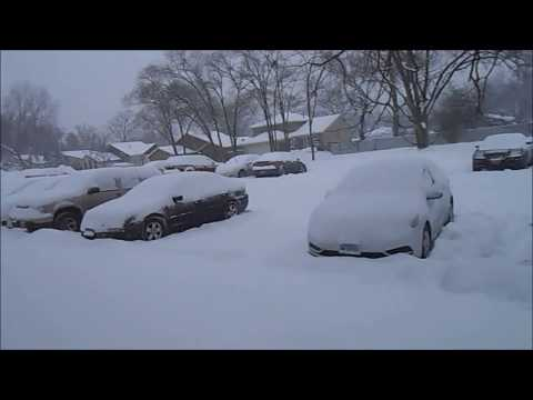 Huge Chicagoland snowstorm February 8th & 9th 2018