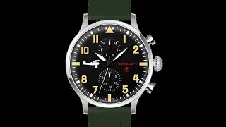 AVIATOR WATCH TYPE 1 FRANCESCO BARACCA video
