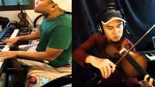 Awesome God Piano & Violin Cover Thumbnail