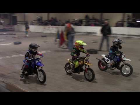 2018 Timonium Md. Indoors, Flat Track Motorcycle Racing, Fair Grounds