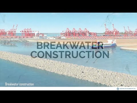 Breakwater Construction at Port City