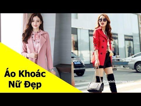 Top Mẫu áo Khoác Nữ đẹp | 50 Áo Khoác Kaki Nữ đẹp Thời Trang Phần 5
