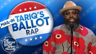 Tariq Trotter's Mail-In Ballot Rap