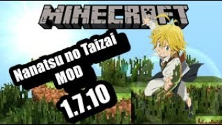 Minecraft Mod Nanatsu no taizai  1 7 10