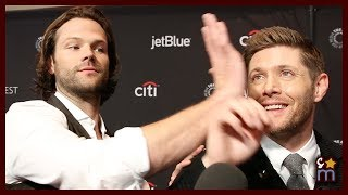 """SUPERNATURAL Cast Talk OMG Moments & Scooby-Doo Crossover """"Scoobynatural"""" at Paleyfest 2018"""