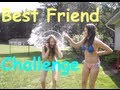 Best Friend Challenge With Water Balloons