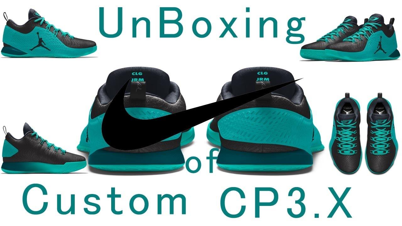 7b4c015ee78 UnBoxing of Nike Custom ID Shoes