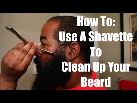 How To: Use A Shavette To Clean Up Your Beard, Cheeks