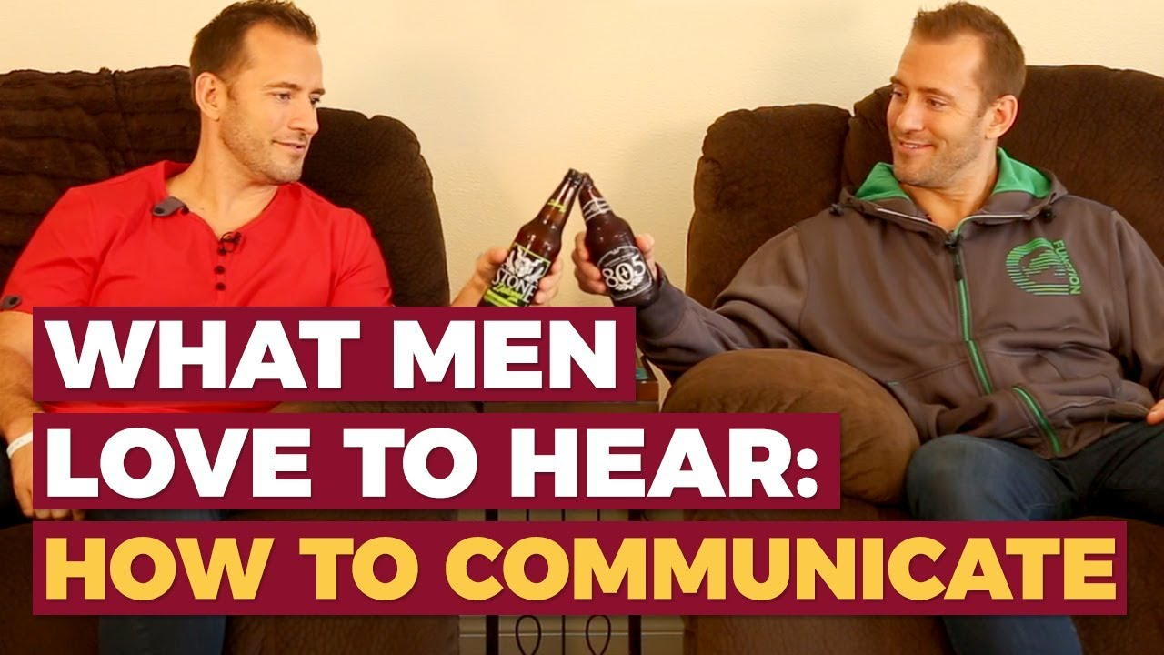 How to communicate with men in a relationship