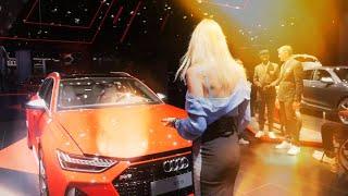 Самый быстрый универсал! Audi RS6. 600 сил! Лиса рулит