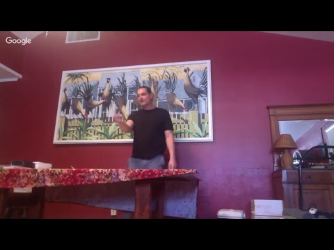 Dr. Micahel Haley Live at the raw food retreat