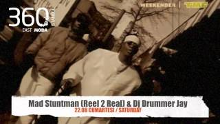"Mad Stuntman & Dj Drummer Jay ""I LIKE TO MOVE IT"" @360Istanbul East Moda"