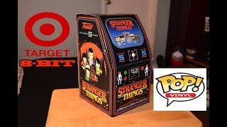 Target Exclusive STRANGER THINGS 8-BIT ARCADE BOX 5-PACK FUNKO POP SET!